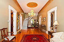 Grand Entry Hall at 235 S. Court St., Montgomery, AL. Professional photos and tour by Go2REasssistant.com