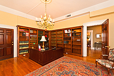 Library room at 235 S. Court St., Montgomery, AL. Professional photos and tour by Go2REasssistant.com